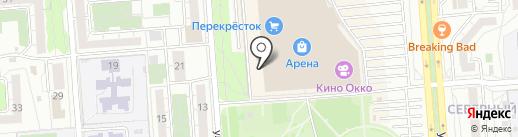 Артис на карте Воронежа