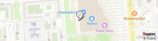 М.Сервис на карте Воронежа