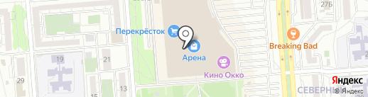 Осаго36.рф на карте Воронежа