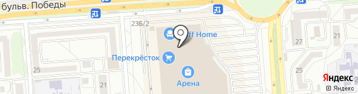Умники и умницы на карте Воронежа