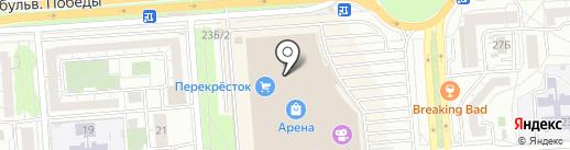 Точка красоты на карте Воронежа