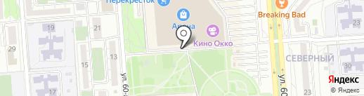ЭкспрессМатрас на карте Воронежа