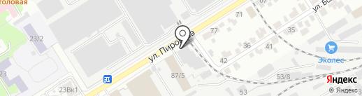 Полезные Визитки на карте Воронежа