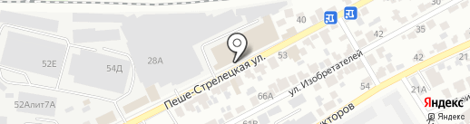 ДвериОнлайн на карте Воронежа