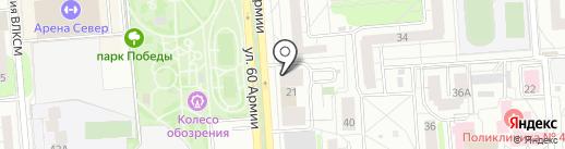 Ретехника на карте Воронежа
