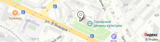 Медведь на карте Воронежа