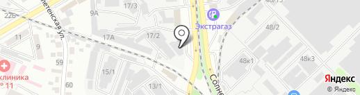 Вега на карте Воронежа