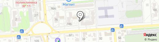 ДЮСШ №19 по самбо на карте Воронежа