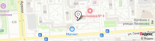 Приватный дерматовенерологический кабинет на карте Воронежа