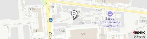 Профраспил на карте Воронежа