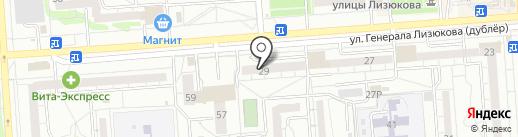 Цена красна на карте Воронежа