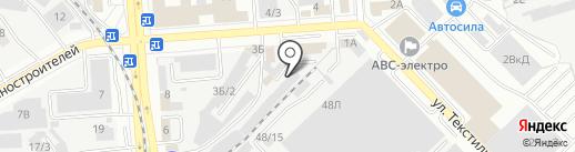 Инталл-Трейд на карте Воронежа