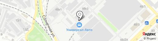 Мотортехнология-В на карте Воронежа