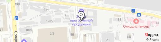 Норман на карте Воронежа
