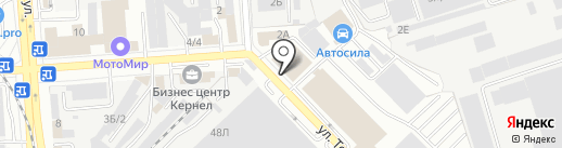 МДМ-Комплект на карте Воронежа