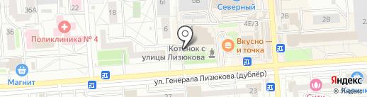 Евротекс на карте Воронежа
