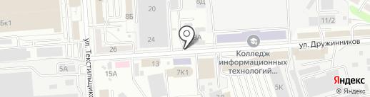 СвязьМастер на карте Воронежа