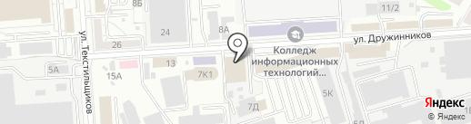 СИА ИНТЕРНЕЙШНЛ-ВОРОНЕЖ на карте Воронежа