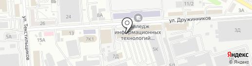 Ренессанс Жизнь на карте Воронежа