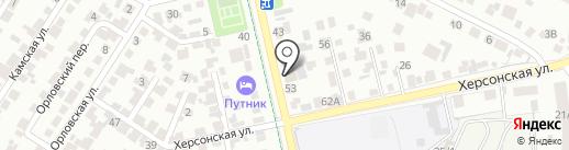 Envio на карте Воронежа