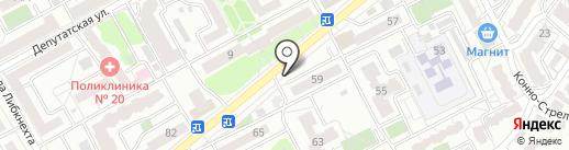 Лиско бройлер на карте Воронежа