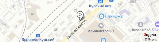 Двери PRO на карте Воронежа