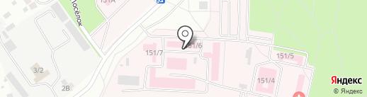 Воронежское областное патологоанатомическое бюро на карте Воронежа