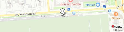 Мастерская по изготовлению ключей на карте Воронежа
