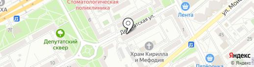 ЗдравСовет на карте Воронежа