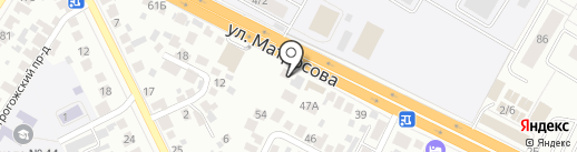 Бурито хаус на карте Воронежа
