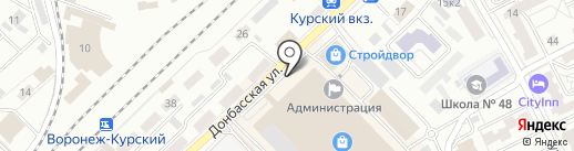 Verda на карте Воронежа