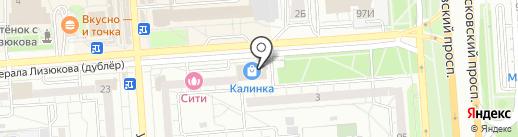 Проектно-экспертный институт на карте Воронежа