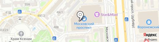 Masarty boutique на карте Воронежа