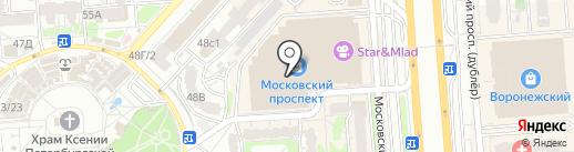 Private_space на карте Воронежа