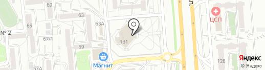 PLAY на карте Воронежа