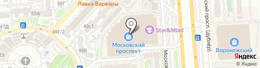 Умные гаджеты на карте Воронежа