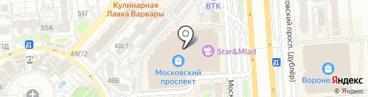 Акs на карте Воронежа