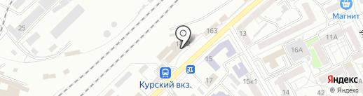 Матрёшка на карте Воронежа