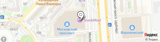 Incity на карте Воронежа