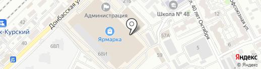 Двери Эксперт на карте Воронежа