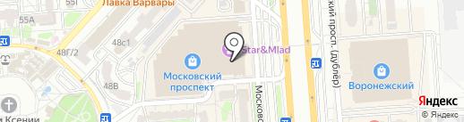 МТС на карте Воронежа