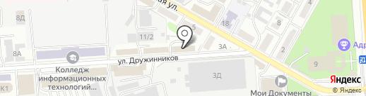 АртМонтажГрупп на карте Воронежа