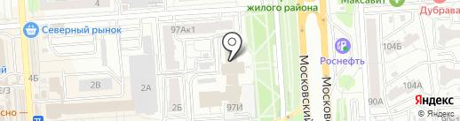 АвтоМир на карте Воронежа