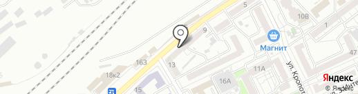 Миг на карте Воронежа