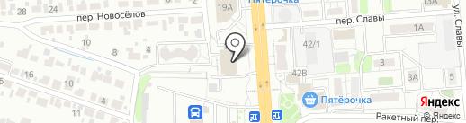 Roadunits на карте Воронежа