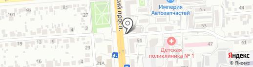 ДиОль на карте Воронежа