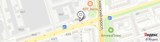 Shawerma bar на карте Воронежа