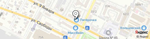 Абсолют на карте Воронежа
