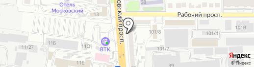ТриКо на карте Воронежа