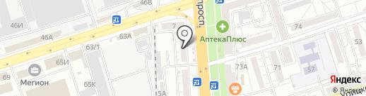 Автодетали на карте Воронежа